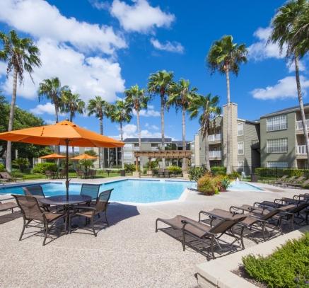 Pool at Camden Copper Ridge Apartments in Corpus Christi, Texas