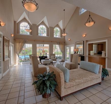 Resident Lounge at Camden Copper Ridge Apartments in Corpus Christi, Texas
