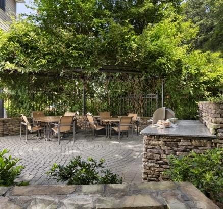 Camden Creekstone Apartments Outdoor Grill