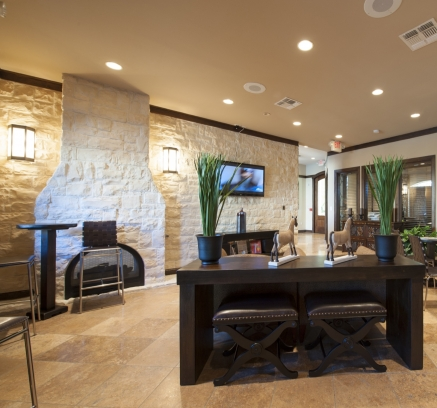 Resident Lounge at Camden Downs at Cinco Ranch Apartments in Katy, Texas