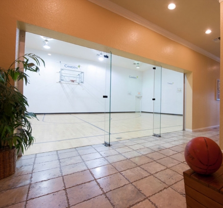 Basketball Court at Camden Holly Springs Apartments in Houston, Texas